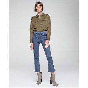 NWT Rag & Bone Hana Cropped Jeans